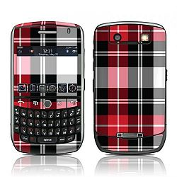 BlackBerry Curve 8900 Vinyl Decal Skin Kit - Red Plaid