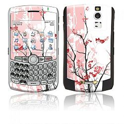 BlackBerry Curve 8300 series Vinyl Decal Skin Kit - Pink Tranquility