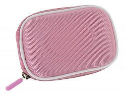 rooCASE Nylon Hard Shell (Pink) Case with Memory Foam for Fujifilm FinePix XP10 12 MP Waterproof Digital Camera Silver