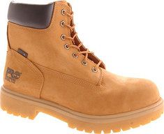 "Timberland - Direct Attach 6"" Steel Toe (Men's) - Wheat Nubuck"