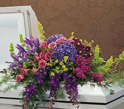Graceful Tribute Casket Spray.