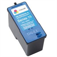 Dell 15- ink series dw906 standard yield color cartridge for v105 all-in-one printers