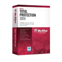 McAfee Total Protection 2014 - 1 PC