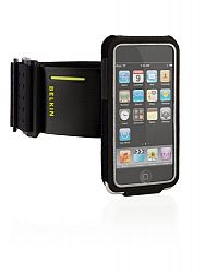 Belkin FastFit Armband Case For IPod Touch 2G 3G Caviar Black H3C0E2C8U-0711