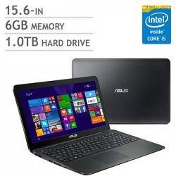 Asus K555LA-Q52-CB Bilingual Notebook, i5-5200U