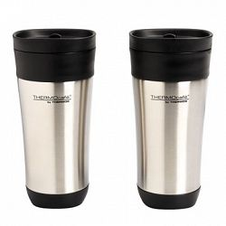 Thermo café Stainless Steel Tumbler - 2 pack - 470ml