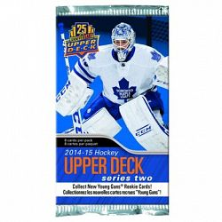 Upper Deck 2014/15 NHL Series 2 Booster - 8 cards - Mystery Pack