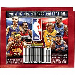 Panini 2014-15 NBA Sticker Collection Pack