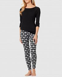 Raglan Tee and Legging Pajama Set