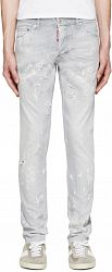 Dsquared2 Grey Distressed Cool Guy Jeans