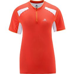 Women's Ultra Trail Tee-Nectarine
