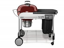 22-inch Performer ® Deluxe Charcoal BBQ in Crimson