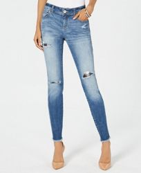 I. n. c. Curvy Ripped & Repaired Skinny Jeans, Created for Macy's
