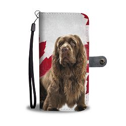 Sussex Spaniel Wallet Case- Free Shipping - LG K8