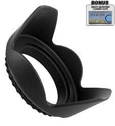 Pro Digital Hard Lens Hood For The Samsung NX11 Digital Camera Which Has The 18-55mm Lens