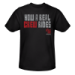 The Devils Ride How a Real Crew Rides Black T-Shirt