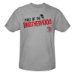 The Devils Ride Part Of The Brotherhood Heather Gray T-shirt