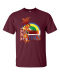 Vincy T-shirt - 2X-Large / Maroon