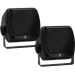 Poly-Planar Subcompact Box Speakers