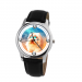 Old English Sheepdog Unisex Wrist Watch- Free Shipping - 38mm