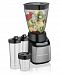 Hamilton Beach Multiblend System With 4 Blending Jars, Black With Stainless Accents, 52400 Black & Stainless Steel