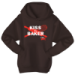 Cake Boss Kiss The Baker Hoodie- Brown